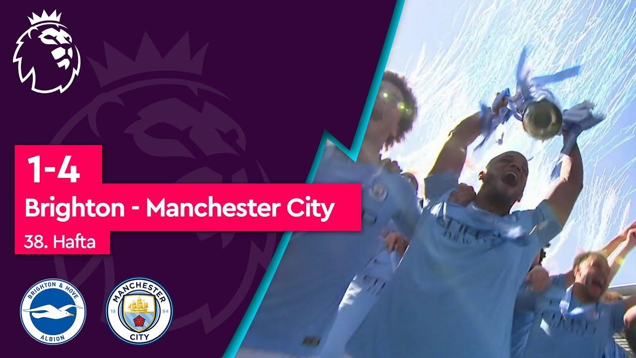 Brighton - Manchester City (1-4) - Maç Özeti - Premier League 2018/19