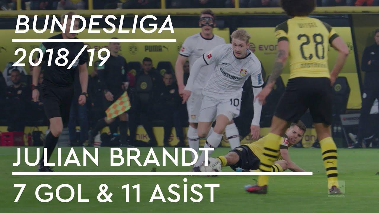Julian Brandt | 7 Gol & 11 Asist - Bundesliga 2018/19