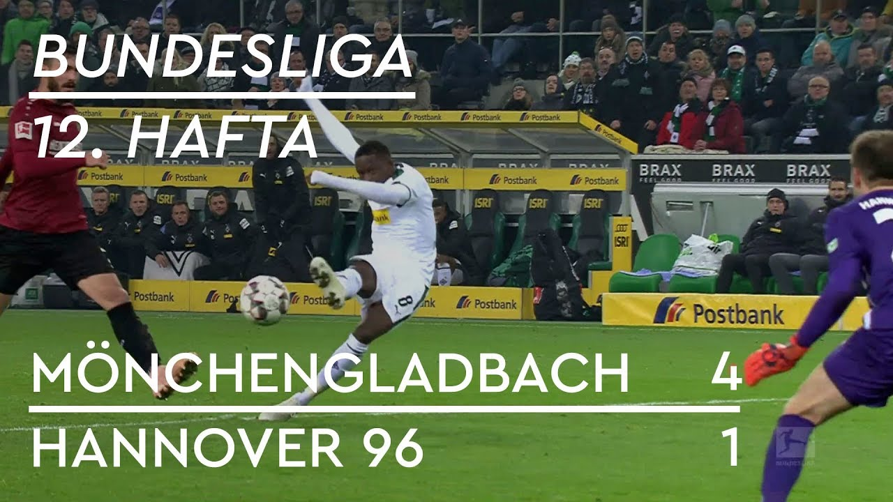 Mönchengladbach - Hannover 96 (4-1) - Maç Özeti - Bundesliga 2018/19
