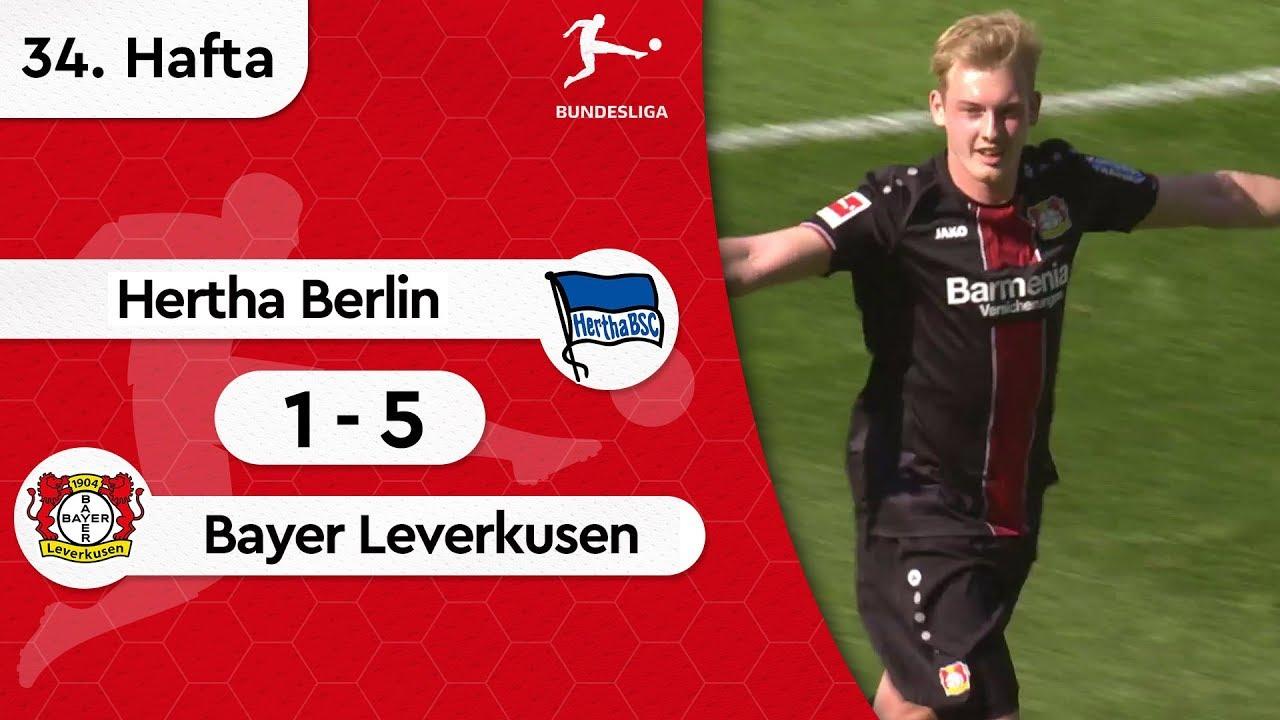 Hertha Berlin - Bayer Leverkusen (1-5) - Maç Özeti - Bundesliga 2018/19