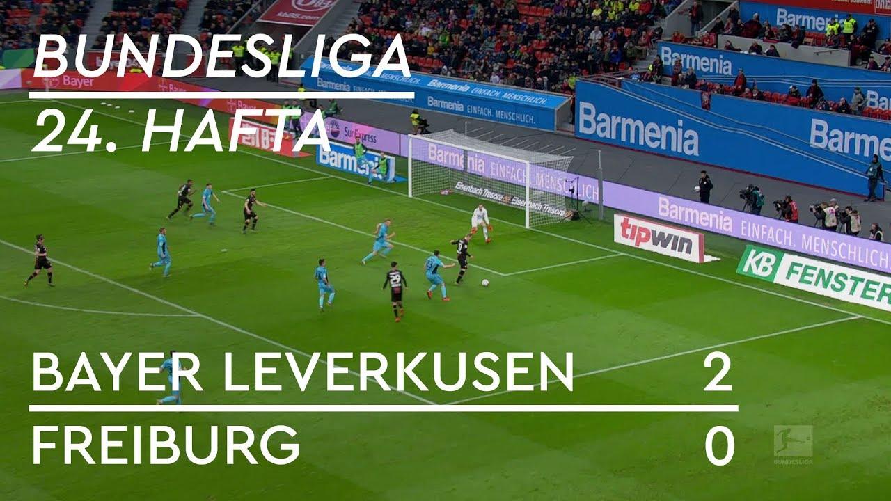 Bayer Leverkusen - Freiburg (2-0) - Maç Özeti - Bundesliga 2018/19