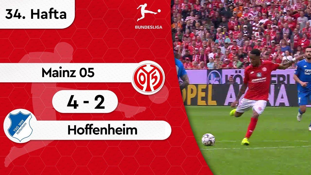Mainz 05 - Hoffenheim (4-2) - Maç Özeti - Bundesliga 2018/19