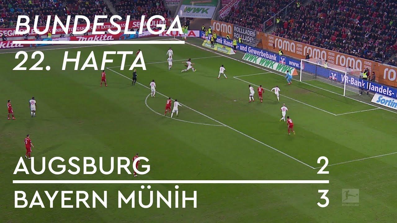 Augsburg - Bayern Münih (2-3) - Maç Özeti - Bundesliga 2018/19