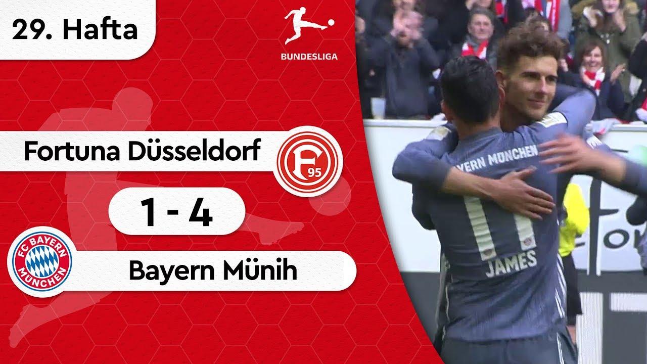 Fortuna Düsseldorf - Bayern Münih (1-4) - Maç Özeti - Bundesliga 2018/19
