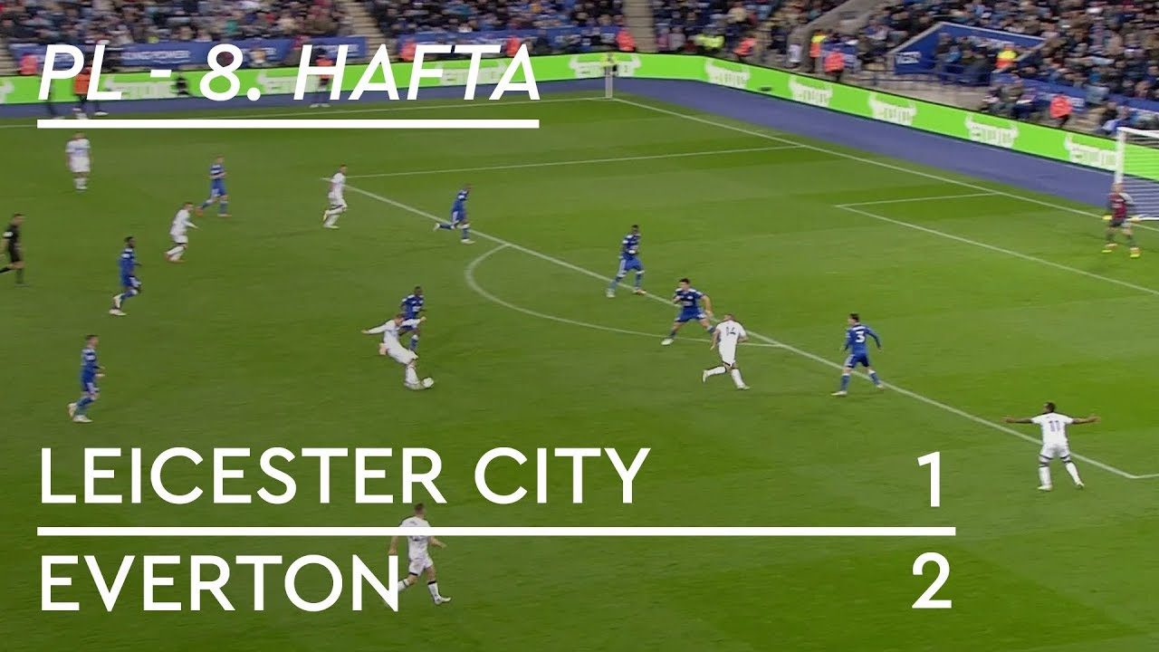 Leicester City - Everton (1-2) - Maç Özeti - Premier League 2018/19
