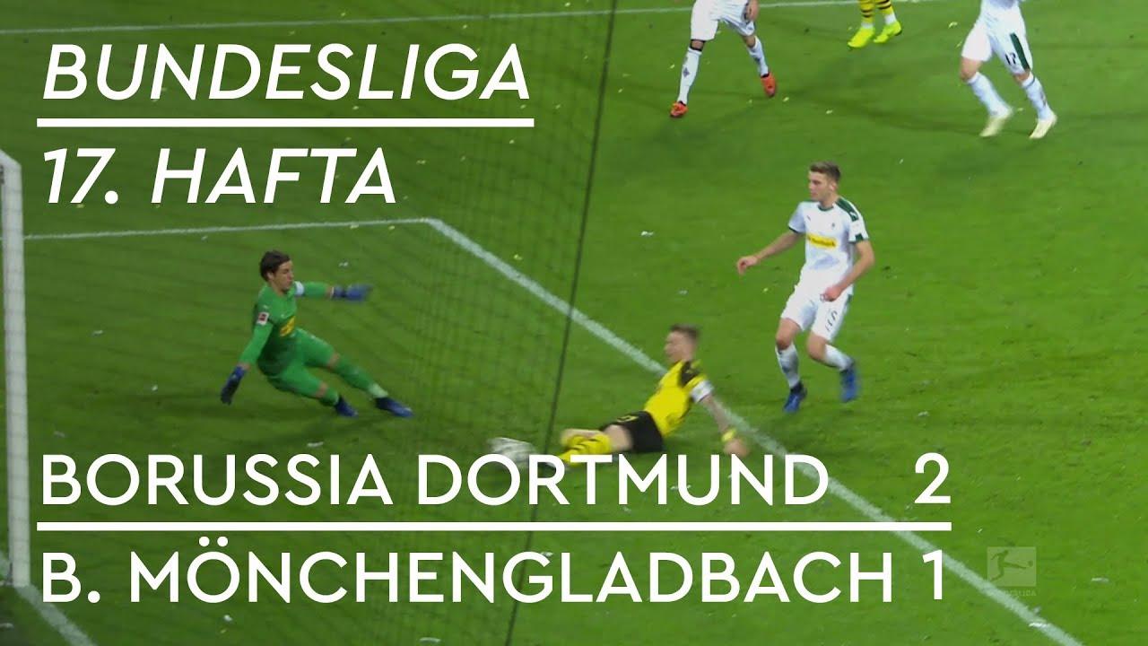 Borussia Dortmund - Mönchengladbach (2-1) - Maç Özeti - Bundesliga 2018/19