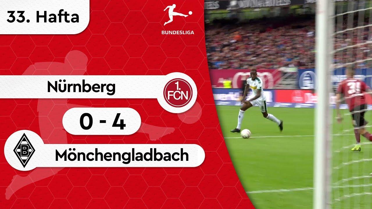 Nürnberg - Borussia Mönchengladbach (0-4) - Maç Özeti - Bundesliga 2018/19