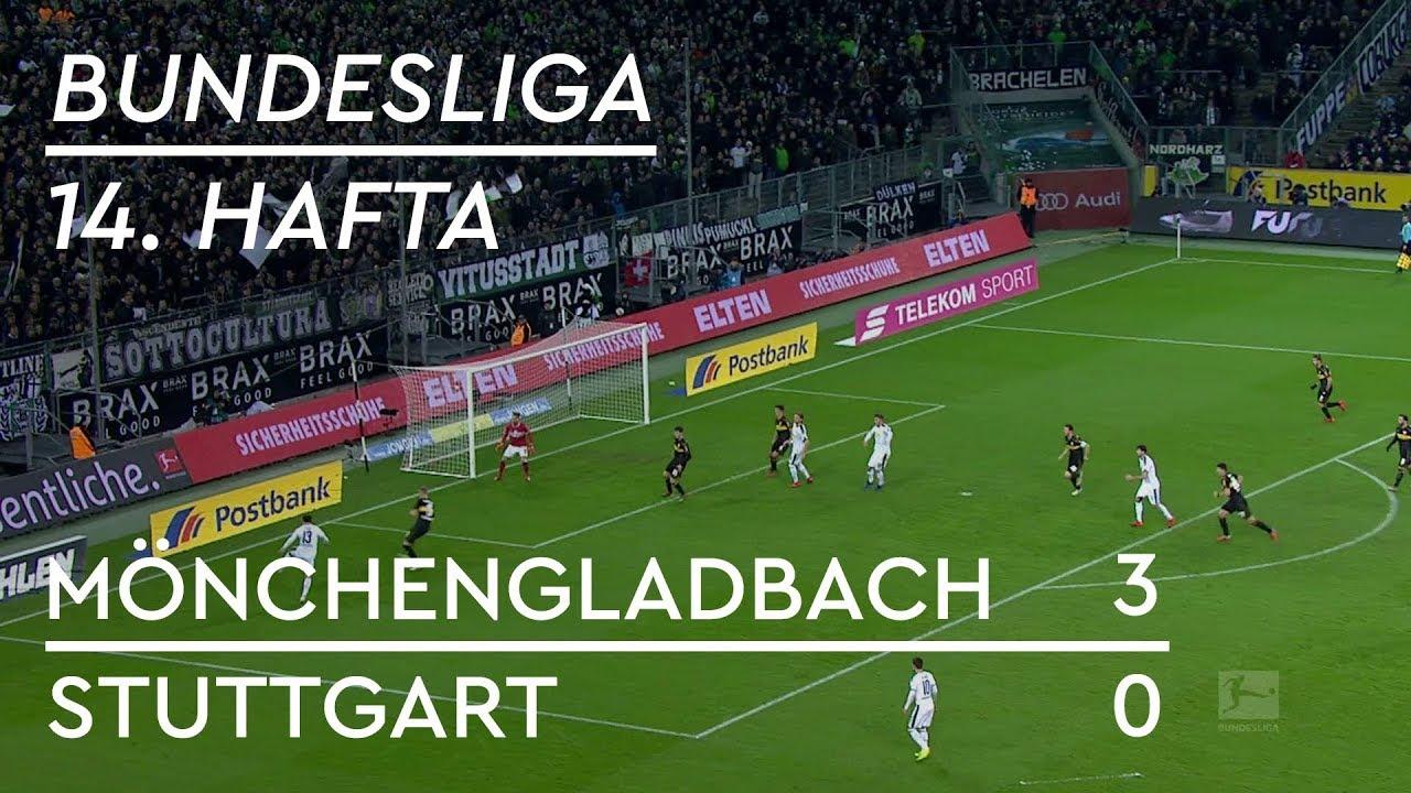 Mönchengladbach - Stuttgart (3-0) - Maç Özeti - Bundesliga 2018/19