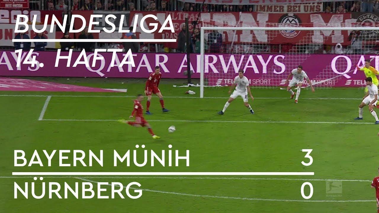 Bayern Münih - Nürnberg (3-0) - Maç Özeti - Bundesliga 2018/19 - Türkçe Anlatım