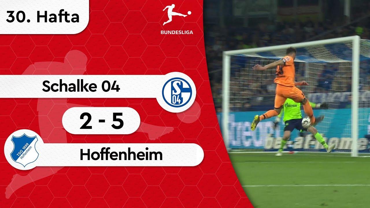 Schalke 04 - Hoffenheim (2-5) - Maç Özeti - Bundesliga 2018/19
