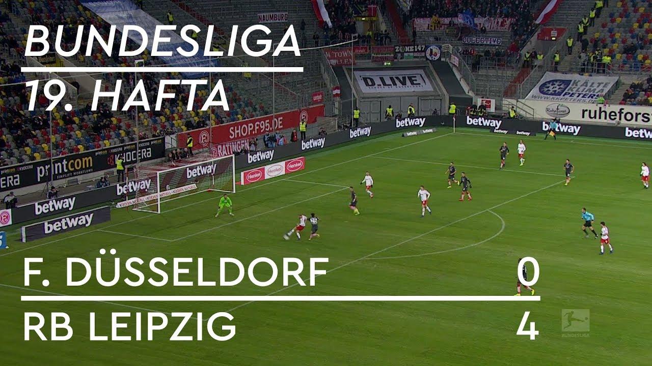 Fortuna Düsseldorf - RB Leipzig (0-4) - Maç Özeti - Bundesliga 2018/19