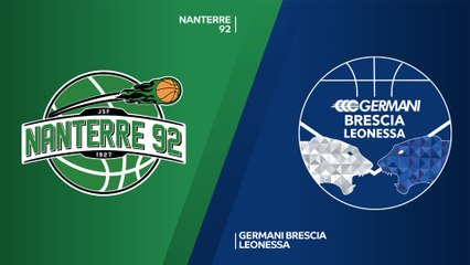 7Days EuroCup Highlights Regular Season, Round 5: Nanterre 65-73 Brescia