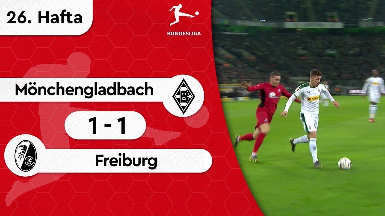 Mönchengladbach - Freiburg (1-1) - Maç Özeti - Bundesliga 2018/19