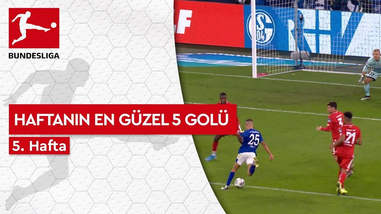 Bundesliga'da 5. Haftanın En Güzel 5 Golü (2019/20)