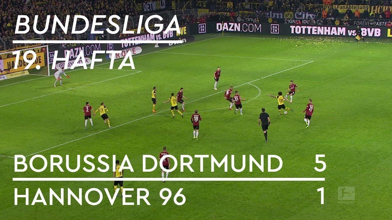 Borussia Dortmund - Hannover 96 (5-1) - Maç Özeti - Bundesliga 2018/19 - Türkçe Anlatım