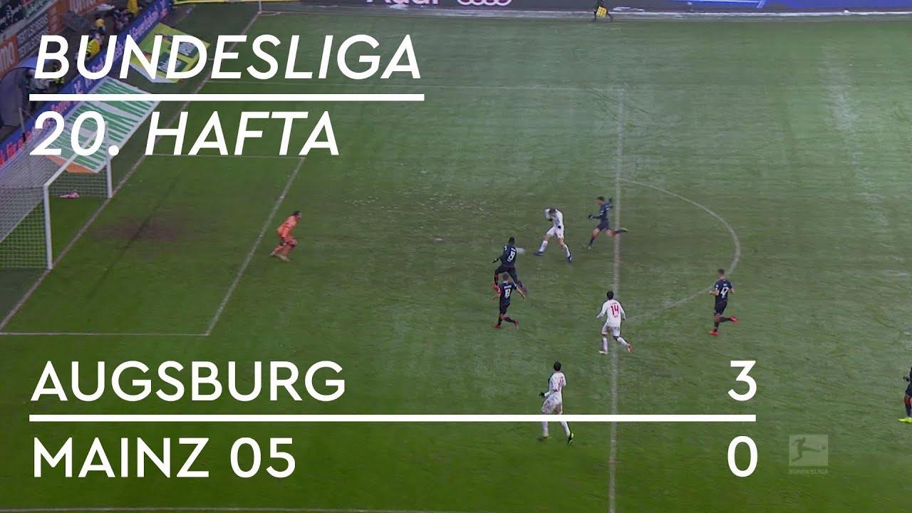 Augsburg - Mainz 05 (3-0) - Maç Özeti - Bundesliga 2018/19 - Türkçe Anlatım