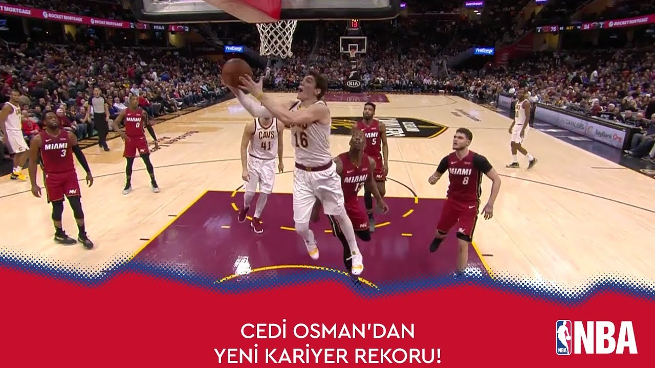 Cedi Osman'dan Yeni Kariyer Rekoru!