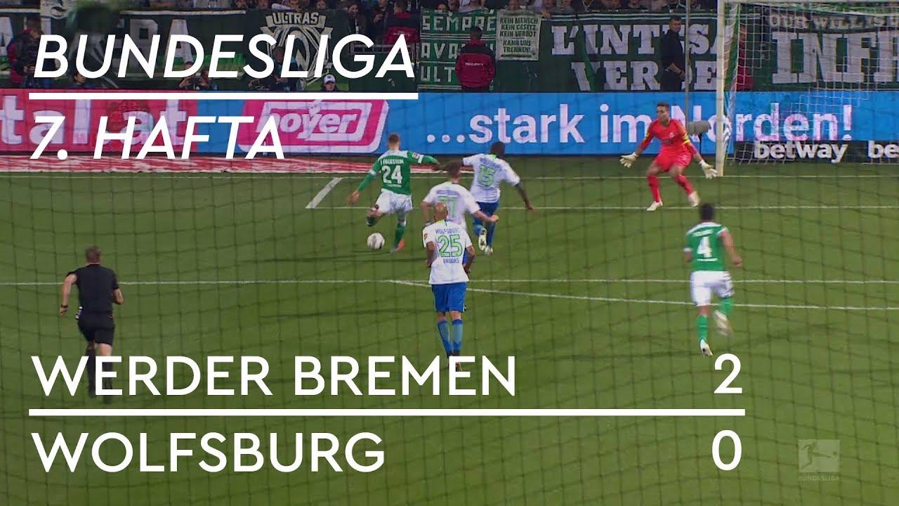Werder Bremen - Wolfsburg (2-0) - Maç Özeti - Bundesliga 2018/19