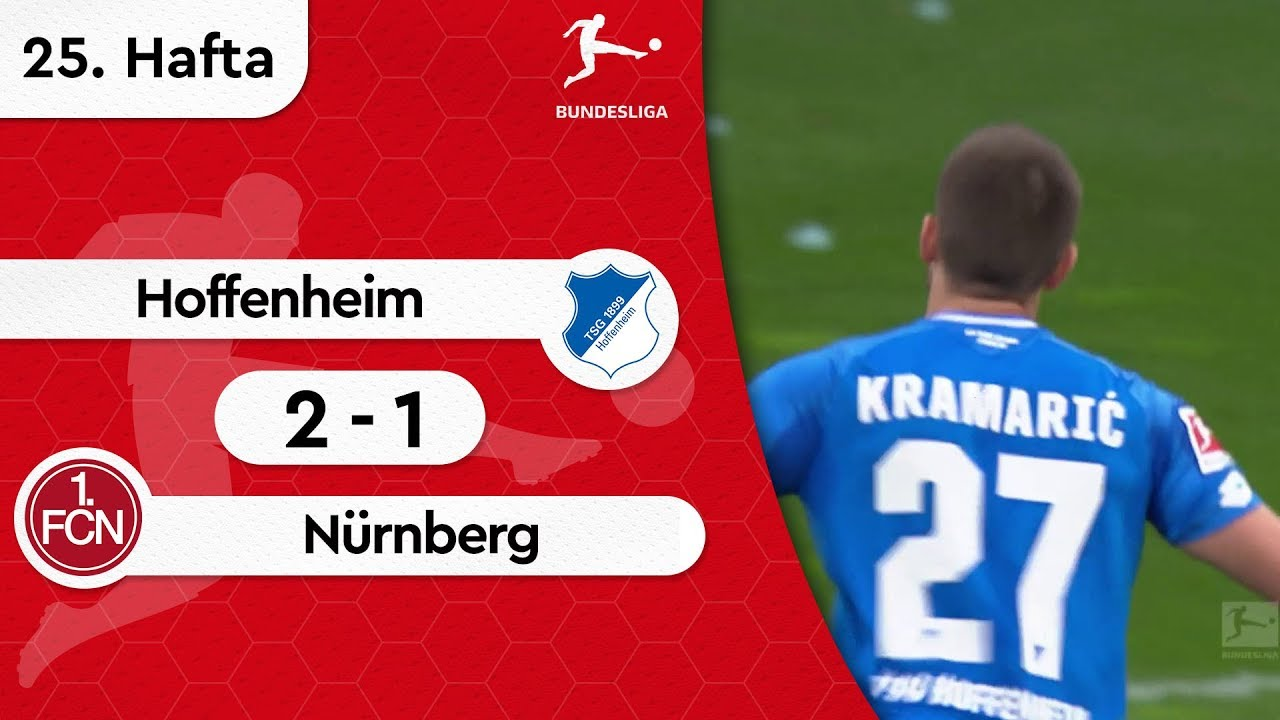 Hoffenheim - Nürnberg (2-1) - Maç Özeti - Bundesliga 2018/19