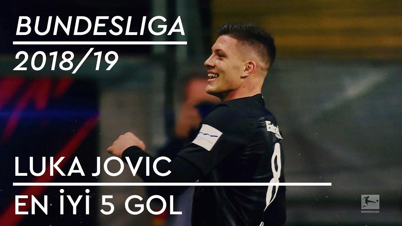 En İyi 5 Gol - Luka Jovic | Bundesliga