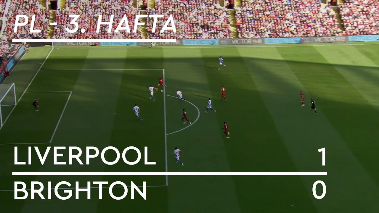 Liverpool - Brighton (1-0) - Maç Özeti - Premier League 2018/19