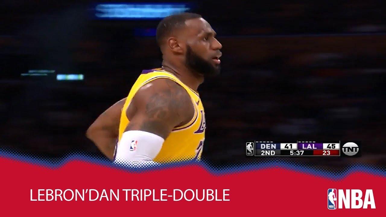 LeBron'dan Sezonun İlk Trible-Double'ı!