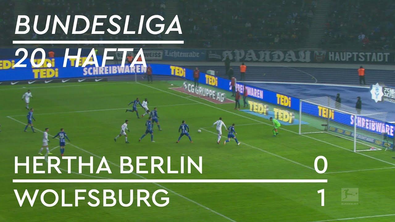 Hertha Berlin - Wolfsburg (0-1) - Maç Özeti - Bundesliga 2018/19