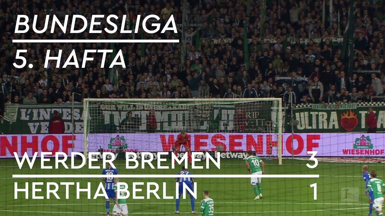 Werder Bremen - Hertha Berlin (3-1) - Maç Özeti - Bundesliga 2018/19