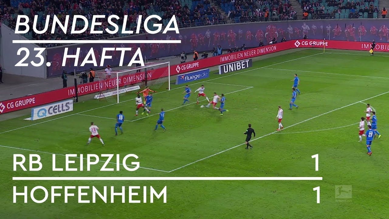 RB Leipzig - Hoffenheim (1-1) - Maç Özeti - Bundesliga 2018/19