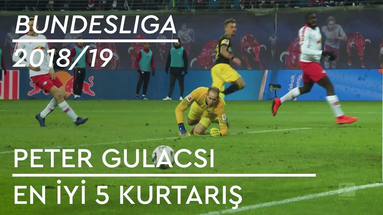 Peter Gulacsi | En İyi 5 Kurtarış - Bundesliga 2018/19
