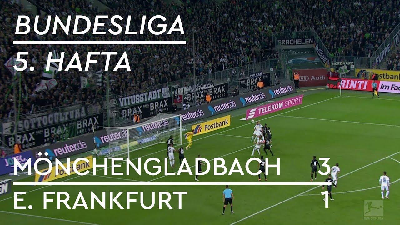 Borussia Mönchengladbach - Eintracht Frankfurt (3-1) - Maç Özeti - Bundesliga 2018/19
