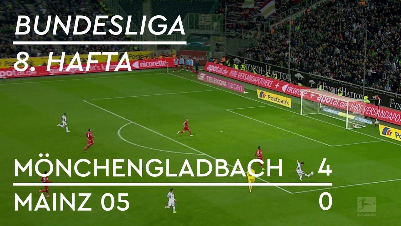 Mönchengladbach - Mainz 05 (4-0) - Maç Özeti - Bundesliga 2018/19