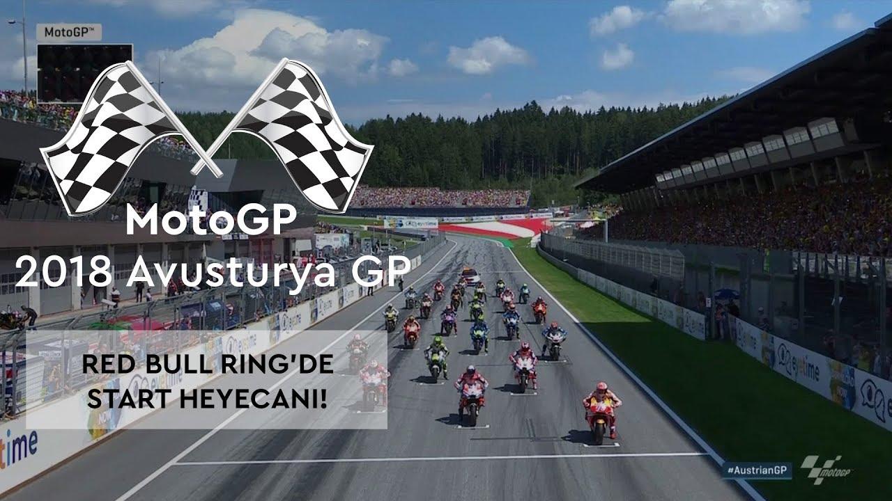 Spielberg'de Start Heyecanı! (2018 MotoGP - Avusturya Grand Prix)