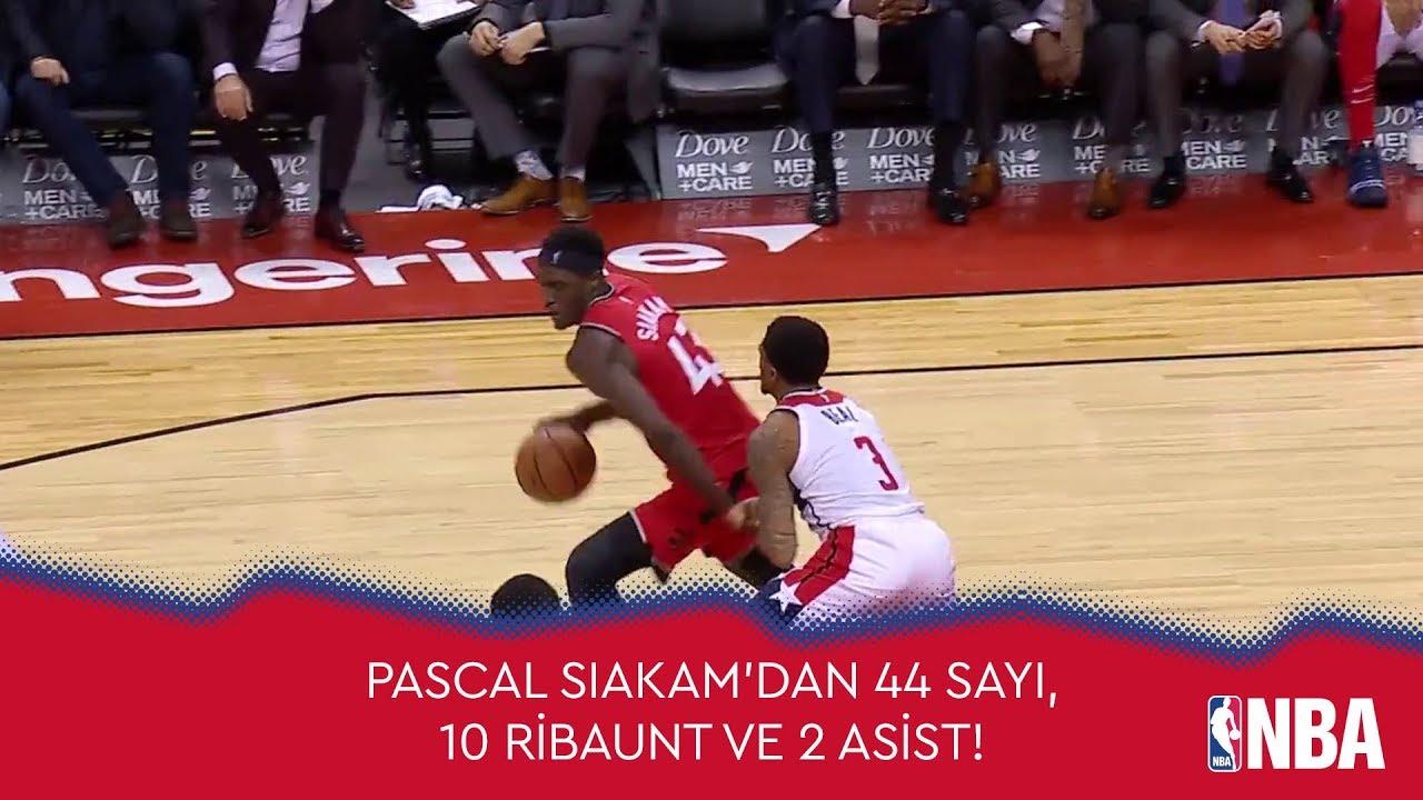 Pascal Siakam'dan Kariyer Rekoru! 44 Sayı, 10 Ribaunt ve 2 Asist