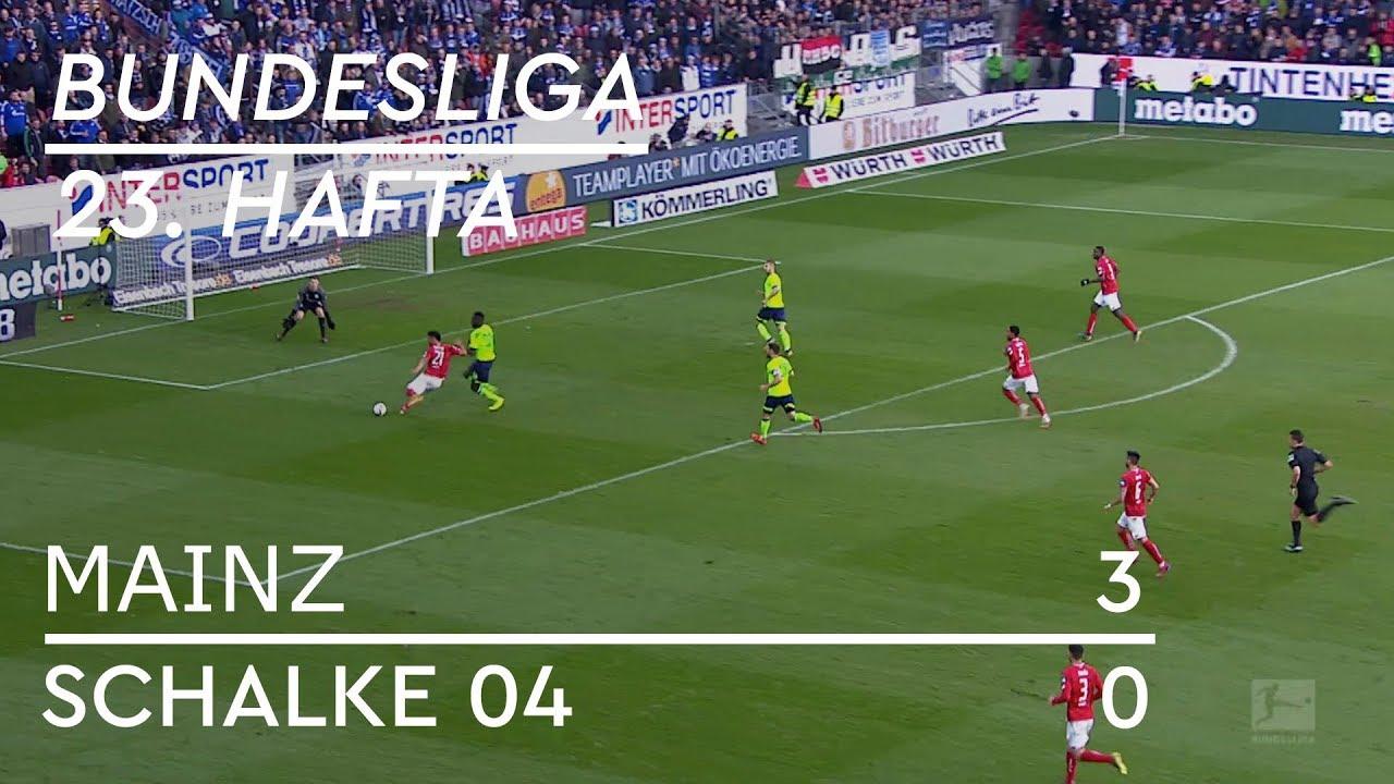 Mainz - Schalke 04  (3-0) - Maç Özeti - Bundesliga 2018/19