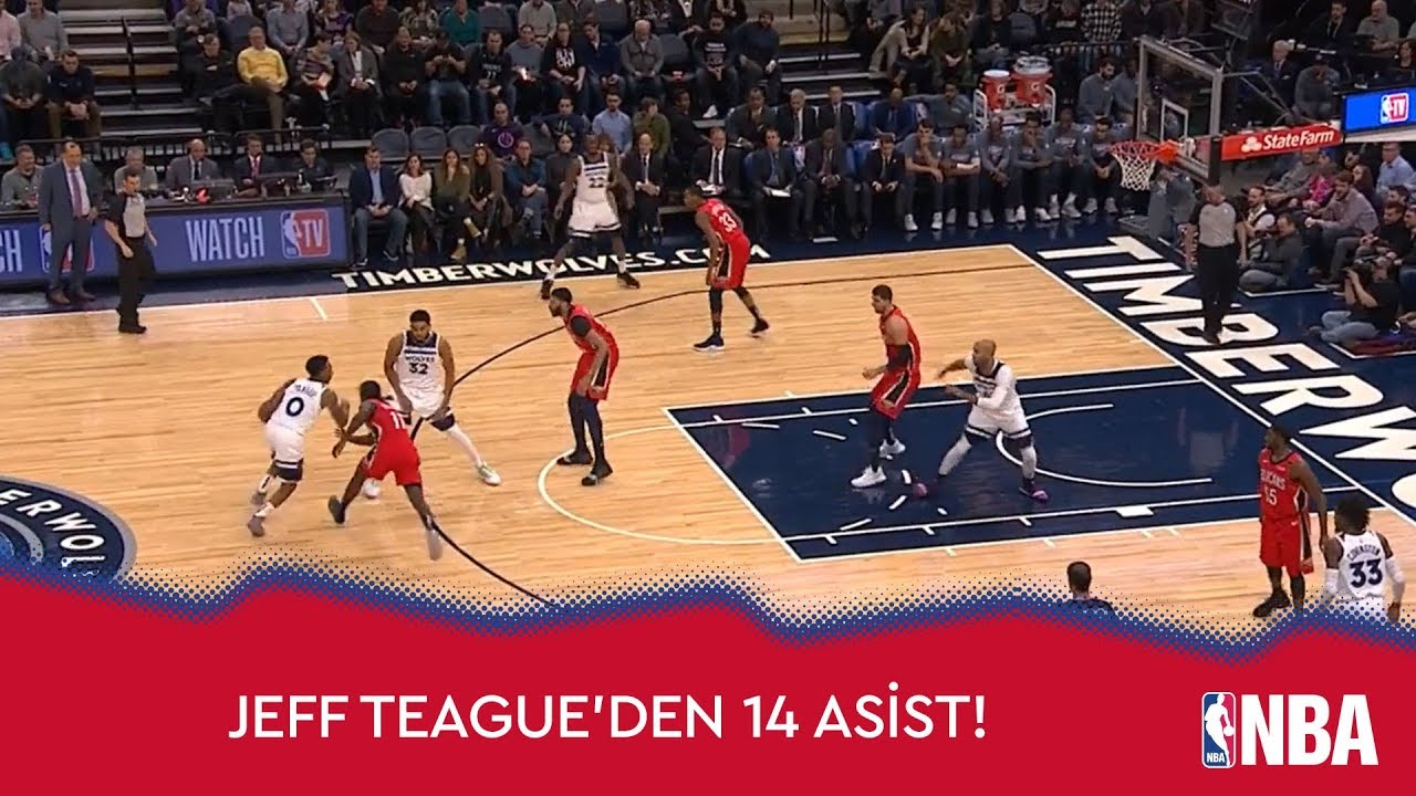 Jeff Teague'den 14 Asist!