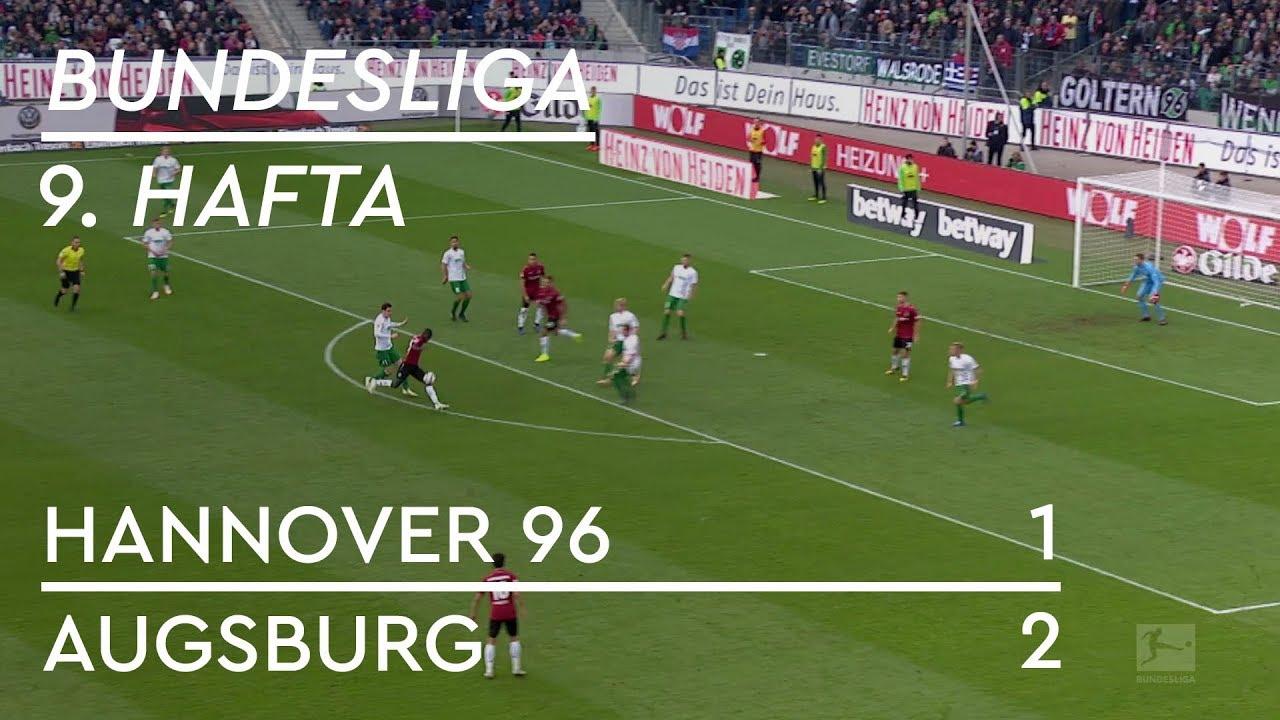 Hannover 96 - Augsburg (1-2) - Maç Özeti - Bundesliga 2018/19