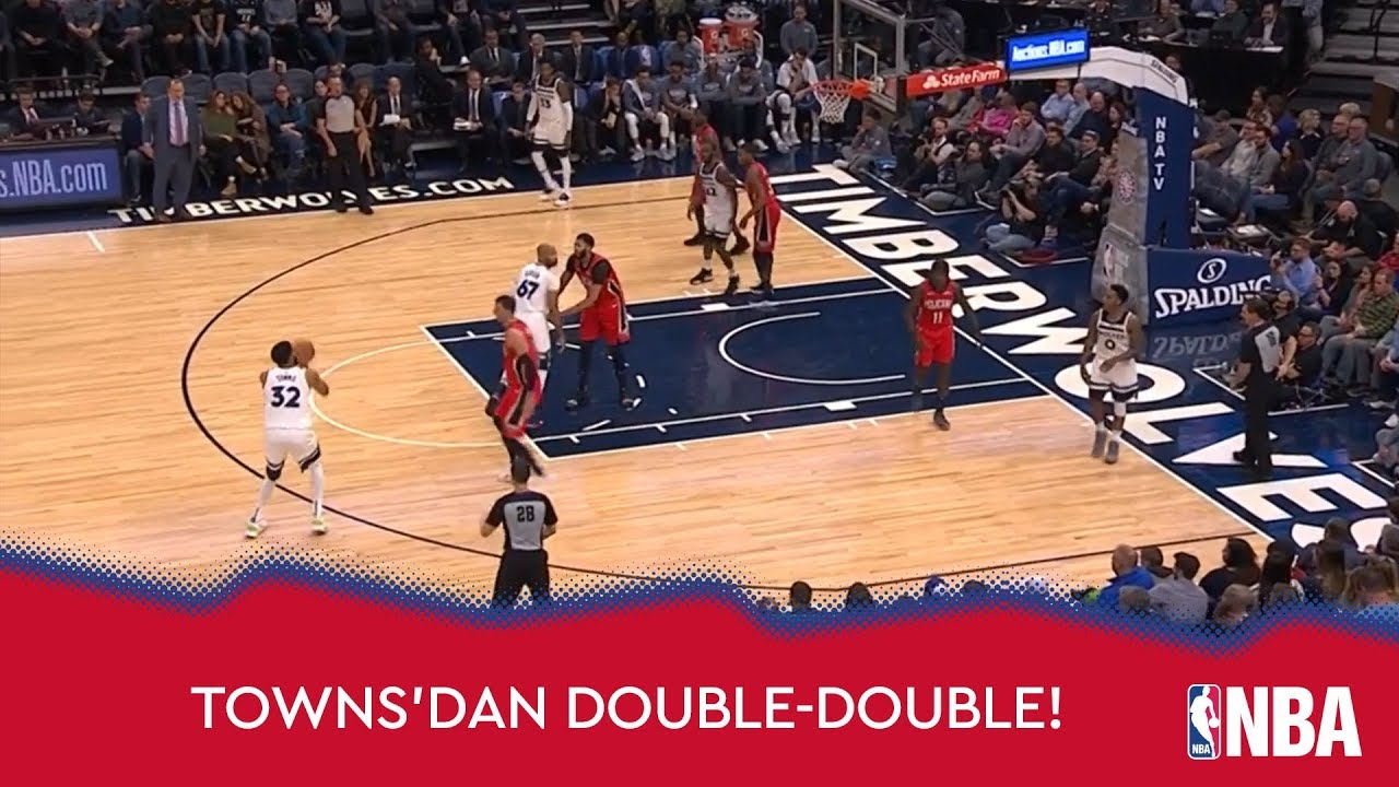 Towns'dan Double-Double!