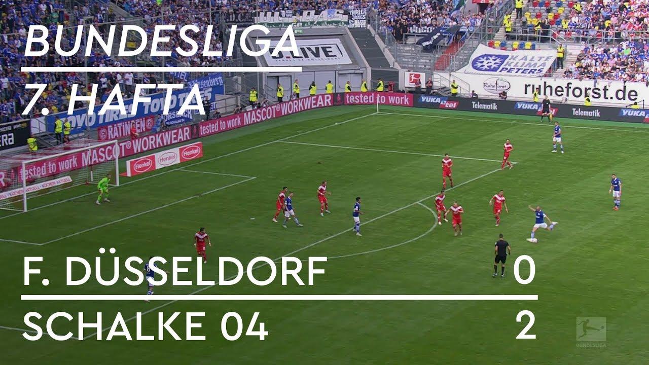 Fortuna Düsseldorf - Schalke 04 (0-2) - Maç Özeti - Bundesliga 2018/19