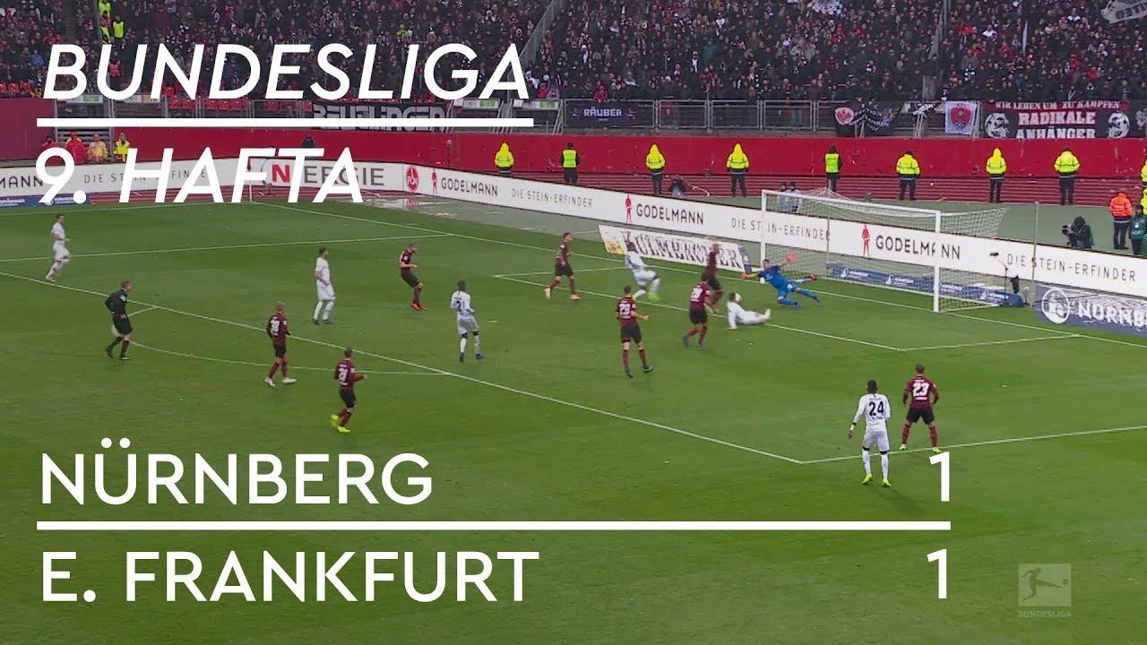 Nürnberg - Eintracht Frankfurt (1-1) - Maç Özeti - Bundesliga 2018/19