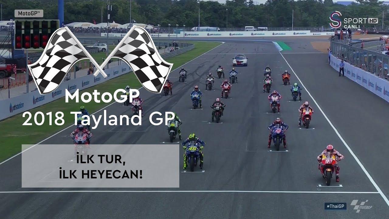 İlk Tur, İlk Heyecan! (2018 MotoGP - Tayland Grand Prix)