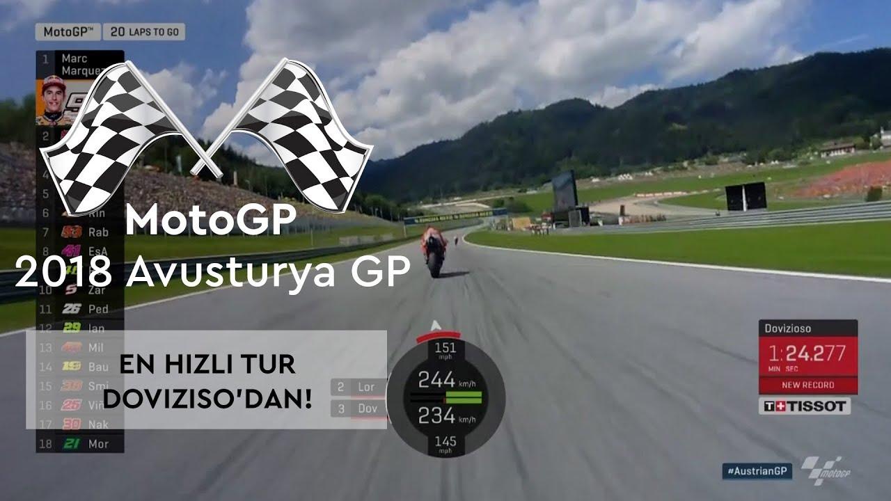 Dovizioso'dan 'En Hızlı Tur' (2018 MotoGP - Avusturya Grand Prix)