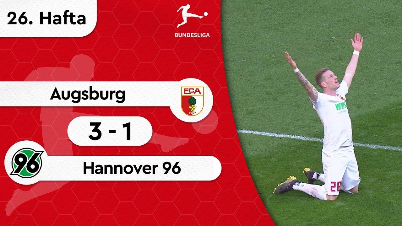 Augsburg - Hannover 96 (3-1) - Maç Özeti - Bundesliga 2018/19