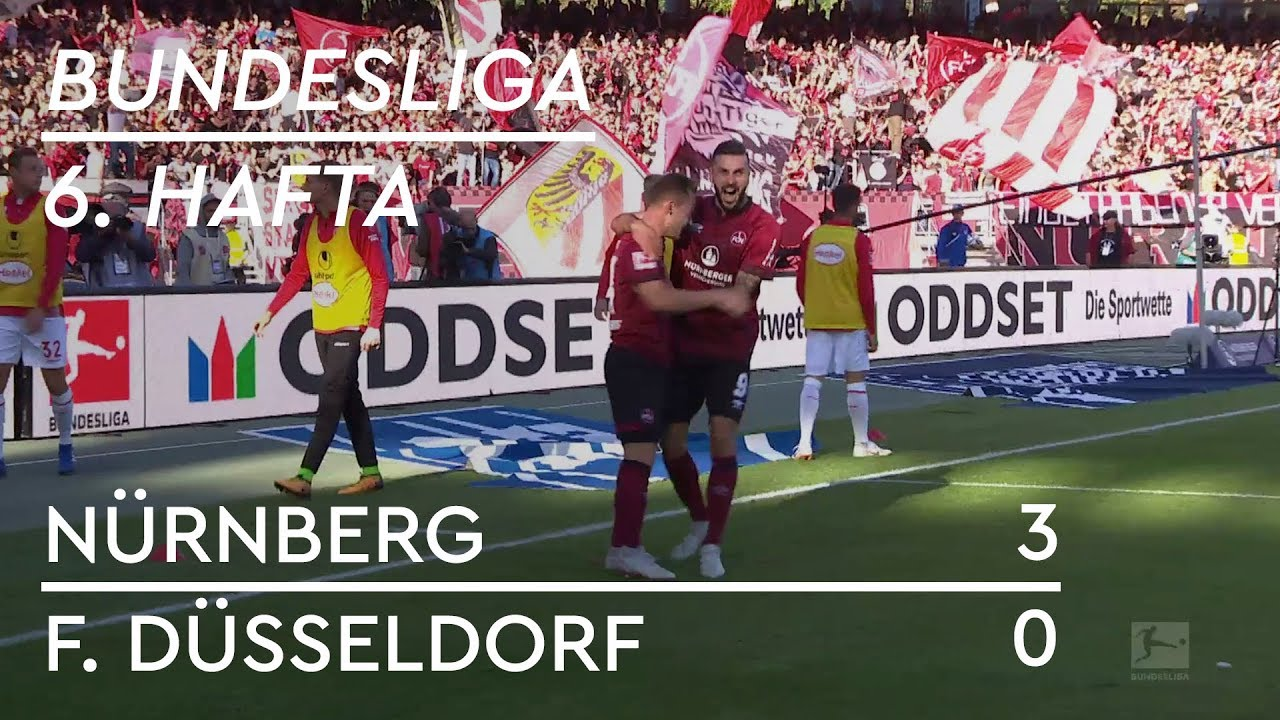 Nürnberg - Fortuna Düsseldorf (3-0) - Maç Özeti - Bundesliga 2018/19