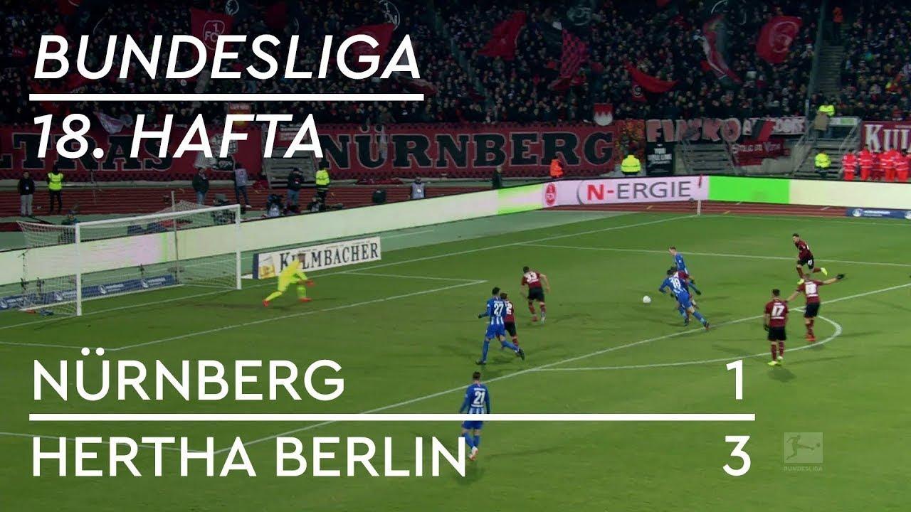 Nürnberg - Hertha Berlin (1-3) - Maç Özeti - Bundesliga 2018/19 - Türkçe Anlatım