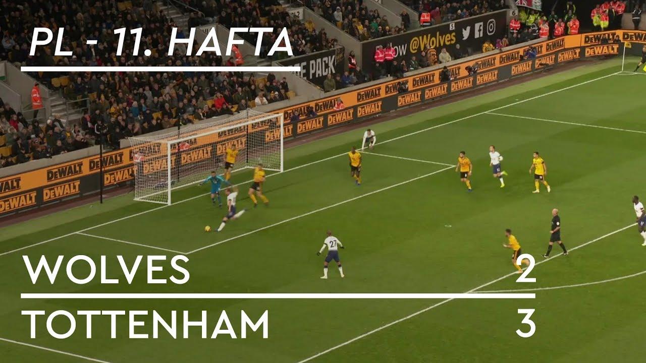 Wolves - Tottenham (2-3) - Maç Özeti - Premier League 2018/19
