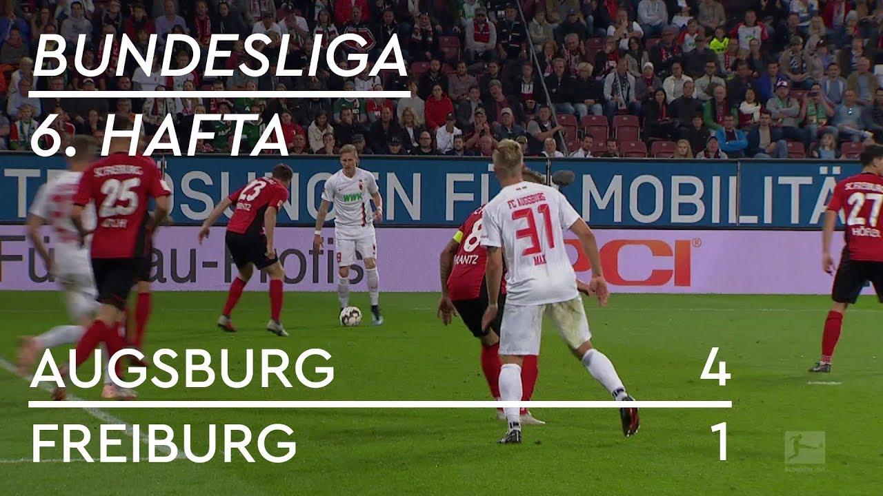 Augsburg - Freiburg (4-1) - Maç Özeti - Bundesliga 2018/19