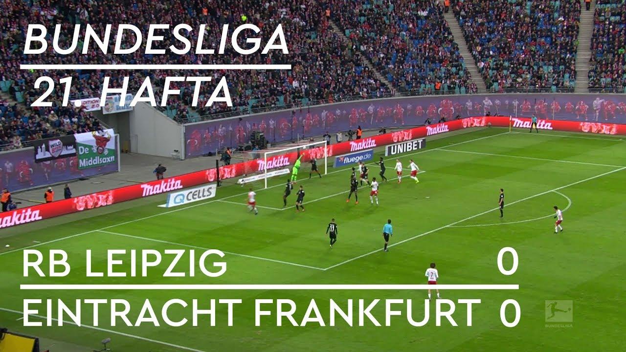 RB Leipzig - Eintracht Frankfurt (0-0) - Maç Özeti - Bundesliga 2018/19 - Türkçe Anlatım
