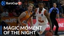 7DAYS Magic Moment of the Night: Alex Hamilton, Maccabi Rishon Lezion