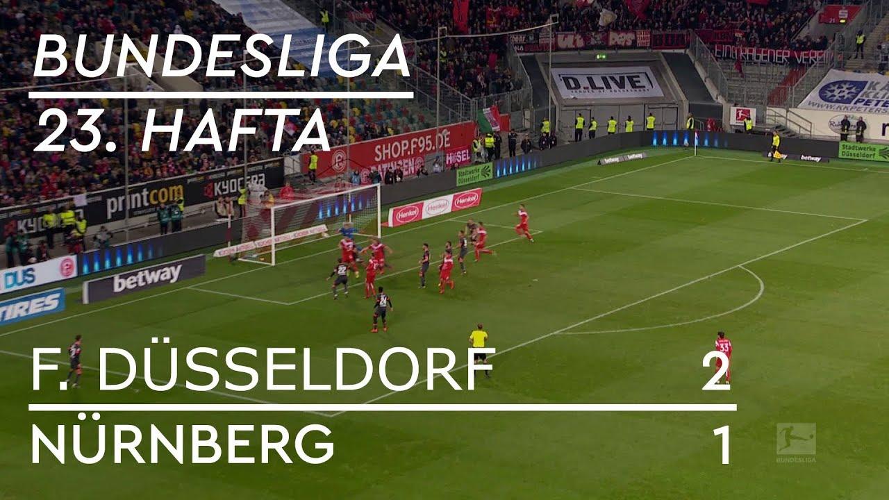 Fortuna Düsseldorf - Nürnberg (2-1) - Maç Özeti - Bundesliga 2018/19 - Türkçe Anlatım